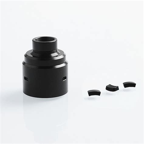 Backgammon Replacement 510 Universal Drip Tip replacement black pom top cap for entheon style rda