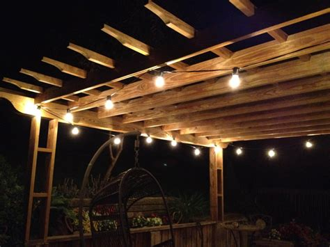 White Patio Lights Clear Globe String Lights Set For Calm Wall Color And White L Outdoor Lighting Fixturess