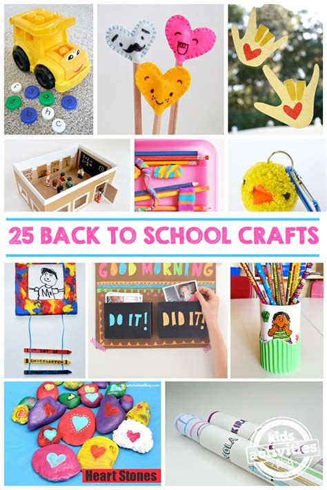 new year crafts for middle school 25 back to school crafts to make this school year