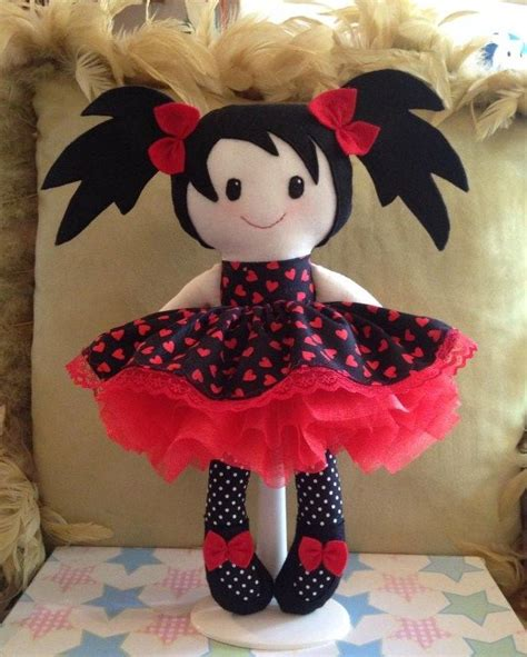 Handmade Rag Dolls Patterns - 91 best bonecas dolls images on fabric