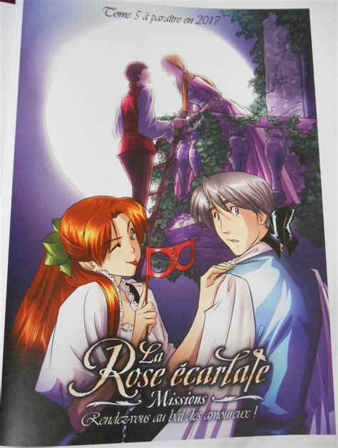 la rose carlate tome couvertures images et illustrations de la rose 233 carlate mission tome 5 rendez vous au bal
