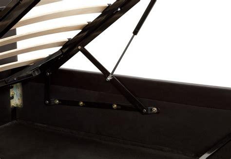 serene furnishings tuscany brown small serene tivoli 5ft kingsize brown faux leather ottoman bed