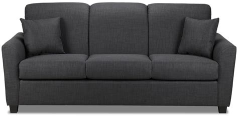 Furniture Couches Sofas by Roxanne Sofa Charcoal S