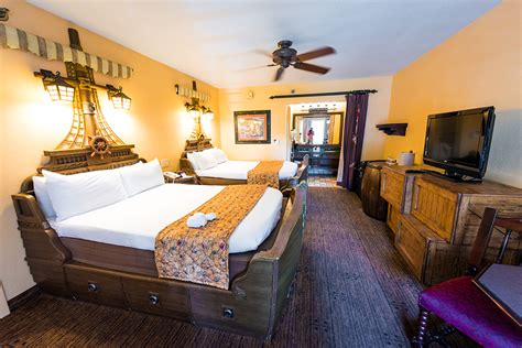 pirate rooms at caribbean resort review disney