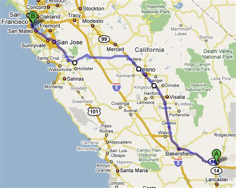 california map highway 99 san luis reservoir route 99 and san francisco raam dev
