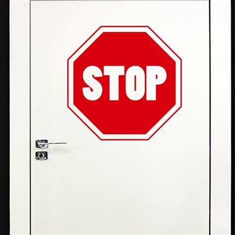 Sticker Stop sticker stop
