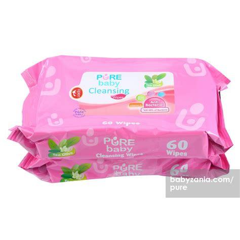 Promo Baby Tisue Basah Mulut Tangan Aloe Vera Isi 60 Mo jual murah baby cleansing wipes tea olive 60 s buy 1 get 2 popok di jakarta