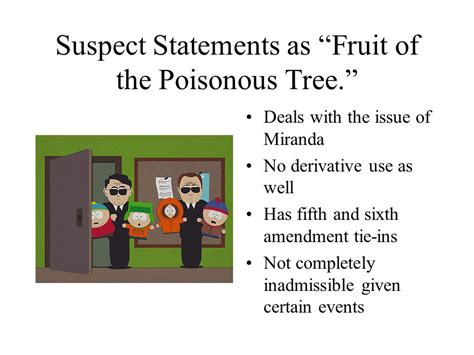 fruit of the poisonous tree tainted fruit of the poisonous tree