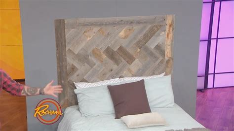 how to make a headboard out of wood and fabric how to make this gorgeous diy headboard out of reclaimed