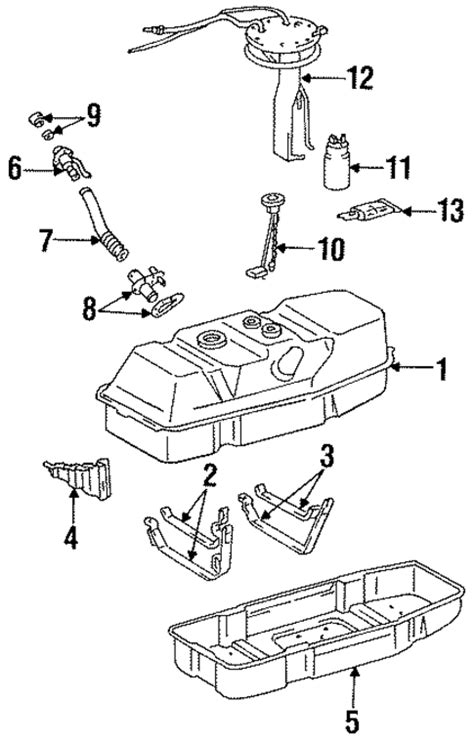 Toyota T100 Parts Genuine Oem Fuel System Components Parts For 1997 Toyota