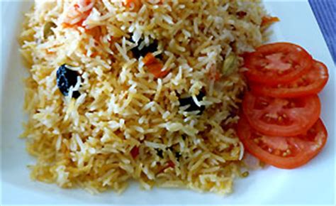 Kabsa (Arabic Rice) : Sri Lanka Recipes : Malini's Kitchen