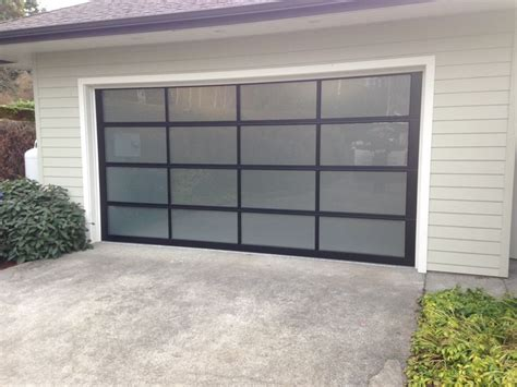 Frosted Glass Garage Doors 119 Best Images About Glass Garage Doors On Residential Garage Doors Mid Century