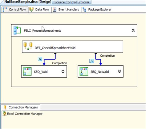 null layout exle ssis how can i validate excel columns for null prior to