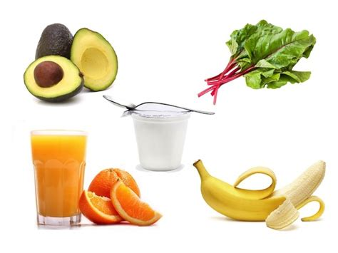 alimento con potassio o que comer antes de uma meia maratona