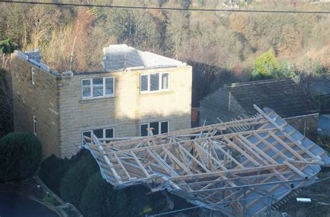 Blown Up Shed by Simultaneous Loading On Hurricane Ties Strong