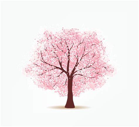 cherry tree design pink cherry tree design vector graphics my free