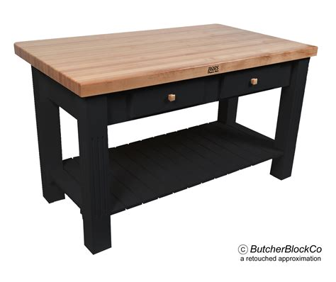 butcher block kitchen island with 8 quot drop leaf