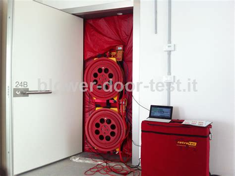 blower door test procedure blower door test alle torri di porta nuova