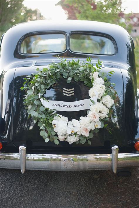 Car Decor by Best 25 Wedding Cars Ideas On Vintage Wedding