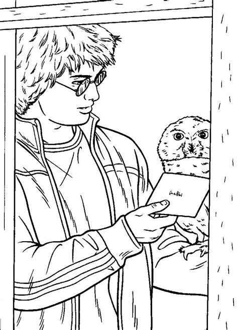 lego herry potter colouring pages