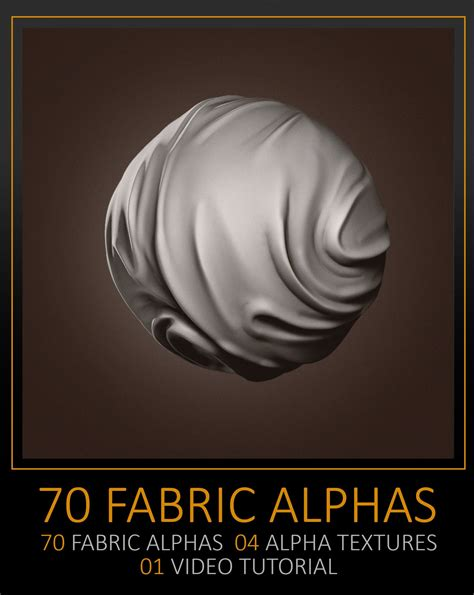 zbrush tutorial texturing artstation 70 facric alphas texture and tutorial