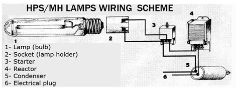 hps ballast wiring diagram 400w magnetic ballast questions 420 magazine
