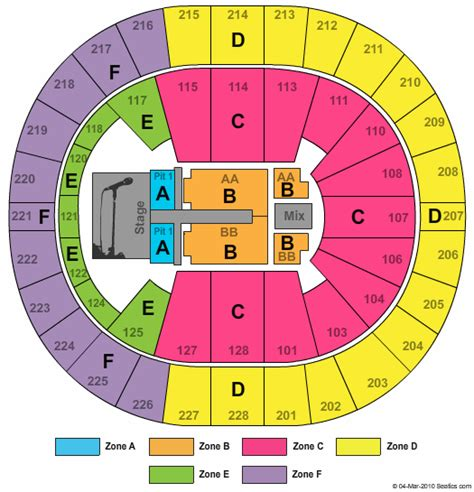 key arena seating pink cheap key arena tickets