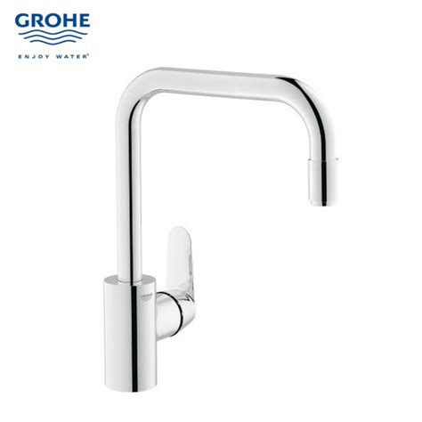 Grohe Kitchen Sink Grohe Gh31122002 Kitchen Sink Mixer With Pull Out Moussuer Bacera