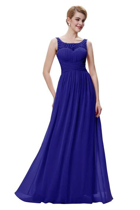 royal blue boat neck dress elegant boat neck sleeveless long royal blue chiffon