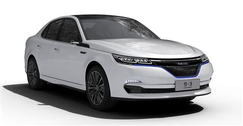 saab returns through nevs new electric 9 3 concept