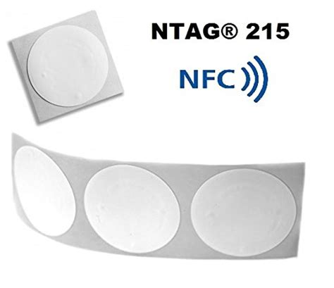 Ntag215 Sticker Pack 20 Count
