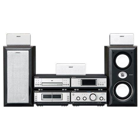 Home Theater Sony Mini sony mhc s9d home theater component system 4 box code free dvd mini hi fi 4000 watts pmpo 120w