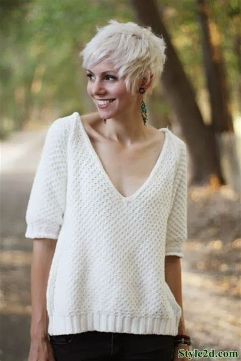 how to style super short blond hair super cute short haircuts for women 2014 hair