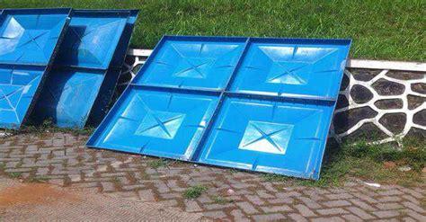 Tangki Panel Fiberglass Frp tangki fiberglass untuk air dan kimia model serta harga pasaran