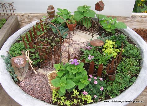 10 ideas about mini garden for you my leaf blower