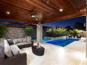 Pool Landscaping Ideas Queensland Birtinya 2 Qld Contemporary Pool Brisbane By Blade