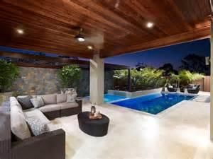 Backyard Landscaping Ideas Queensland Birtinya 2 Qld Contemporary Pool Brisbane By Blade