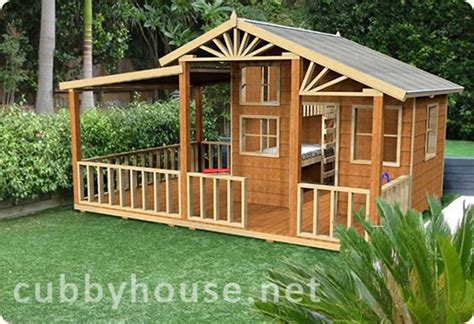 wooden cubby house plans build your own cubby house plans escortsea