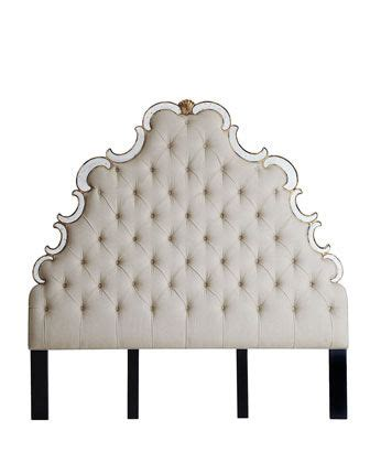 bristol tufted headboard horchow glamorous bedrooms