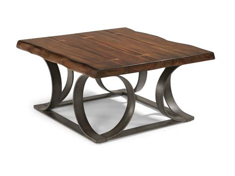 flexsteel living room square cocktail table 6729 032