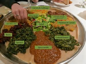Vegan Main Dishes For Thanksgiving - a taste of africa demera ethiopian restaurant veggie next door