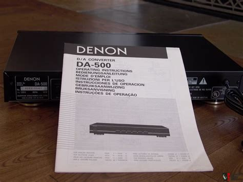 Burton Original Free Box Dan Manual Book denon da 500 dac da converter manual box photo 1476036 canuck audio mart