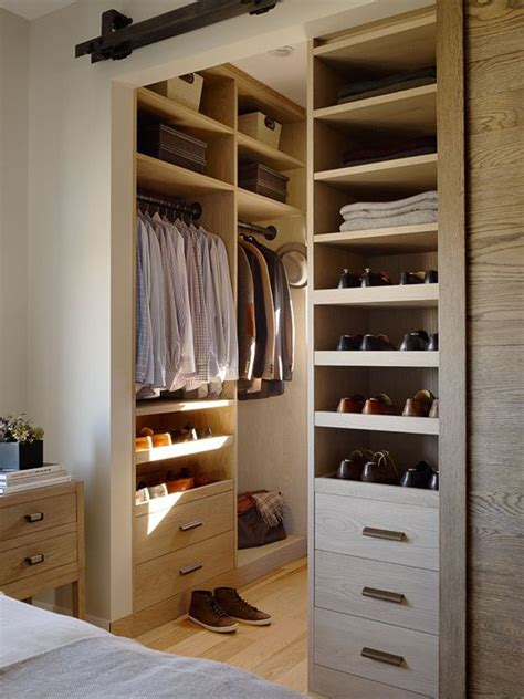 Simple Closets by The Rustic Modernist Bedroom Walk Through Closet Modern