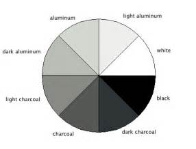 what colors make gray gray