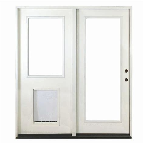 inswing patio door steves sons 72 in x 80 in fiberglass primed white