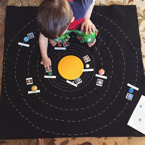 building solar system diy solar system map with free printables