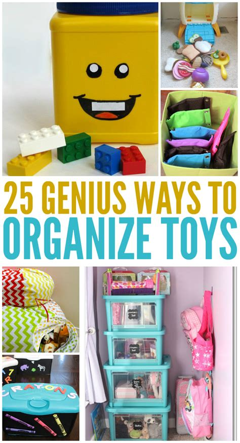 how to organize toys 25 genius ways to organize toys
