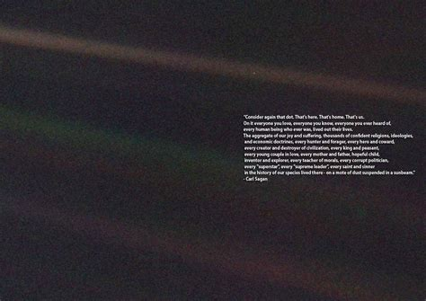 Quote Poster 2 Original carl sagan quote the pale blue dot space print poster canvas sizes a1 a2 a3 a4