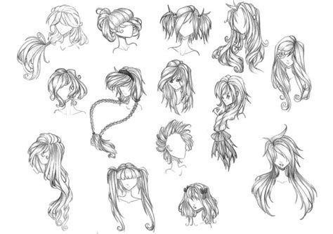 easy to draw anime hairstyles how to draw anime dr odd