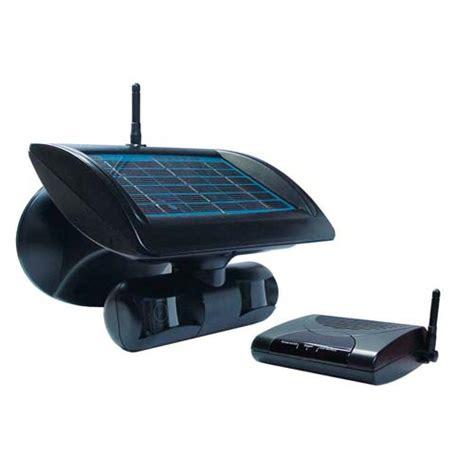 watchguard wireless solar powered surveillance with